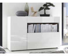 Sideboard ALTAÏR - Weiß lackiert