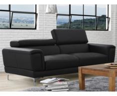 Sofa 3-Sitzer Moliere - Schwarz