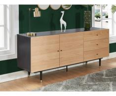 Sideboard VARUNA - 2 Türen & 3 Schubladen