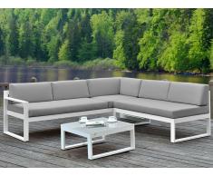 Lounge Sitzgruppe Aluminium PALAOS - Grau