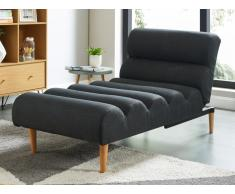 Relaxliege Longchair CIVAL - Anthrazit