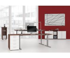 GERAMÖBEL Büromöbel Set, Doppelarbeitsplatz, 300x360cm