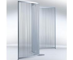STICKI Design Paravent in gebogener Form b330xt1,6xh180cm
