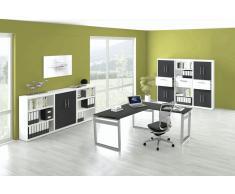 FORM 5 Büromöbel Set, 1 Arbeitsplatz 450x450