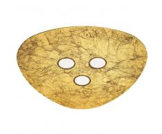 TRIANGOLO LED-Deckenleuchte, Goldfolie, 51609206