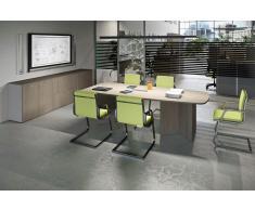TREND PUR Büromöbel Set, Konferenztisch, 200x3500cm