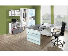 LUGANO Büromöbel Set, 1 Arbeitsplatz 500x400