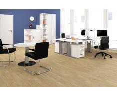 GERAMÖBEL Büromöbel Set, Doppelarbeitsplatz, 400x300cm
