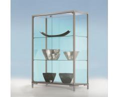 LINK Standvitrine mit Schiebetüren b150xt40xh135cm