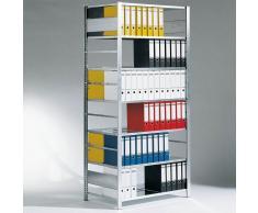 C+P Grund-Ordner-Steckregal doppelseitig, b100xt60xh220cm