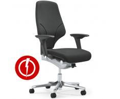 giroflex 64-4578 Drehstuhl mit breitem Sitz, Antistatisch