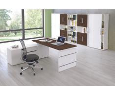 FORM 4 Büromöbel Set, 1 Arbeitsplatz 500x300