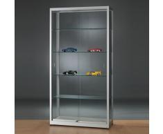 WME Glasvitrine mit Schiebetüren b100xt40xh197,2cm