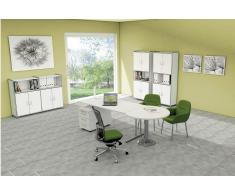 ARTLINE Büromöbel Set, 1 Arbeitsplatz 300x400
