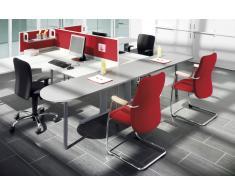 EXPERT Büromöbel Set, 2 Arbeitsplätze, 370x480cm