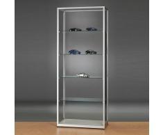 WMS Glasvitrine mit seitlichen Türen b80xt40xh198,4cm