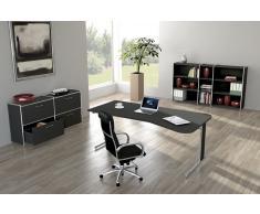 ARTLINE Büromöbel Set, 1 ergonomischer Arbeitsplatz, 450x450