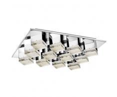 DIAMOND LED-Deckenleuchte, Acrylkristall, chrom, 1400901612