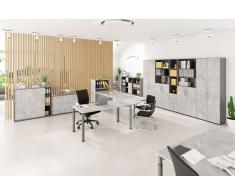 EXPRESS Y-Serie Büromöbel Set, 1 Arbeitsplatz, 700x600cm