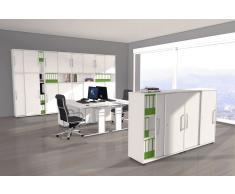 FORM 4 Büromöbel Set, 2 Arbeitsplätze 500x400