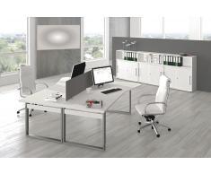 FORM 5 Büromöbel Set, 2 Arbeitsplätze 400x400
