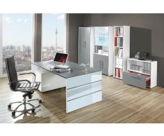 LUGANO Büromöbel Set, 1 Arbeitsplatz 500x450