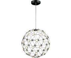 SFERIKA LED-Pendelleuchte, kugelförmig mit Lichtpunkten