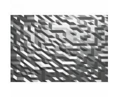 Papier Fototapete 3D-Kristall Silber 368x254cm