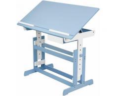 Kinderschreibtisch - Computertisch, Bürotisch - blau