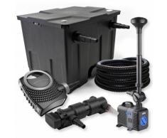 SunSun 1-Kammer Filter Set 12000l 24W UVC Teich Klärer NEO8000 70W Pumpe Schlauch Springbrunnen