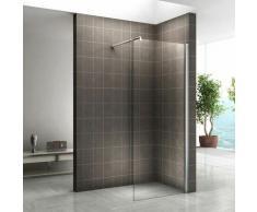 Walk In Dusche 10mm Duschwand Duschabtrennung Klarglas W840 120x200 cm