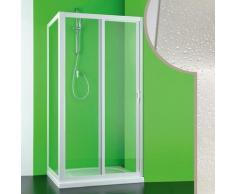 Acryl Duschkabine 100x70CM Mercurio mit seitlichler Öffnung