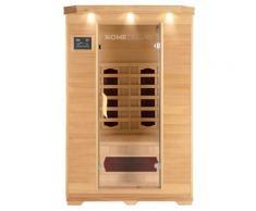 Infrarotsauna Redsun M | Infrarotkabine, Wärmekabine, Saunakabine, Sauna - Home Deluxe