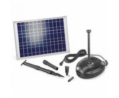 Solar Teichpumpe 25W 1300l/h Solarpumpe Gartenteich Pumpe Teich esotec 101722