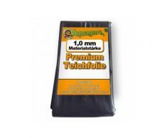 Teichfolie PVC 7m x 4m 1,0mm schwarz Folie für den Gartenteich