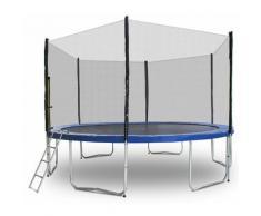 Trampolin 400 Outdoor Gartentrampolin Komplettset 4,00m 400 cm Modell 2019 mit extra verstärkten