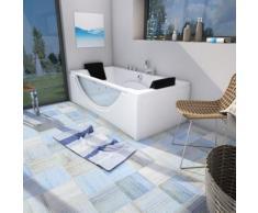 Whirlpool Pool Badewanne Eckwanne Wanne A1821H-A-ALL 90x180cm Reinigungsfunktion -16022- ohne