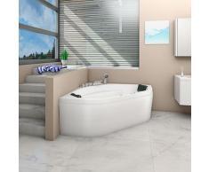 Whirlpool Pool Badewanne Eckwanne Wanne A1420H-ALL 140x140cm Reinigungsfunktion -15937- ohne aktive