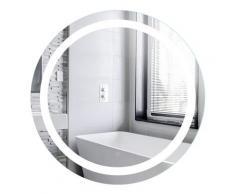 Kupferfreier Quecksilber-Badezimmerspiegel Anti-Fog Badspiegel Rund LED Badspiegel Wandspiegel