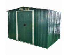Box im Garten Blatt 257x205xh202cm Werkzeugschrank C1351001