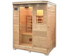 Infrarotsauna Redsun L | Infrarotkabine, Wärmekabine, Saunakabine, Sauna - Home Deluxe