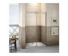 155x195cm Schiebetür Duschkabine Duschwand Dusche Echtglas