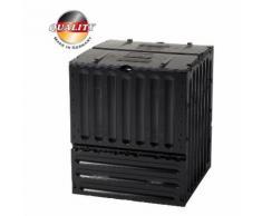 Garantia Eco King Komposter 600 Liter, schwarz
