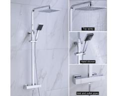 Thermostat Duschsäule Duschsystem Brausethermostat Duschset Regendusche Duscharmatur Duschgarnitur
