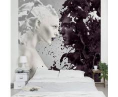 Vliestapete - Milk & Coffee - Fototapete Quadrat Größe HxB: 192cm x 192cm