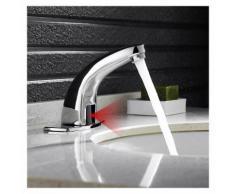 Auralum Automatischer Infrarot Armatur mit IR Sensor Wasserhahn Waschbeckenarmatur Mischbatterie