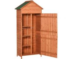 Holz Gerätehaus Geräteschuppen Gartenschrank Geräteschrank Gartenhaus 90x50x190