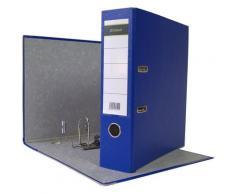 160 x Ordner A4 8 cm PP Kunststoff Blau Aktenordner Briefordner Breit 80 mm