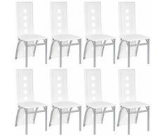 8er-set Esszimmerstühle Stuhl Hochlehner Polsterstuhl Sitzgruppe Essgruppe Esszimmerstuhl