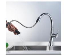BONADE Badarmatur Waschtischarmatur, Wasserhahn bad, mittelhoher Auslauf Einhebel